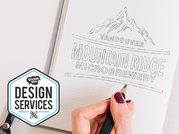 StickerYou offers custom design services