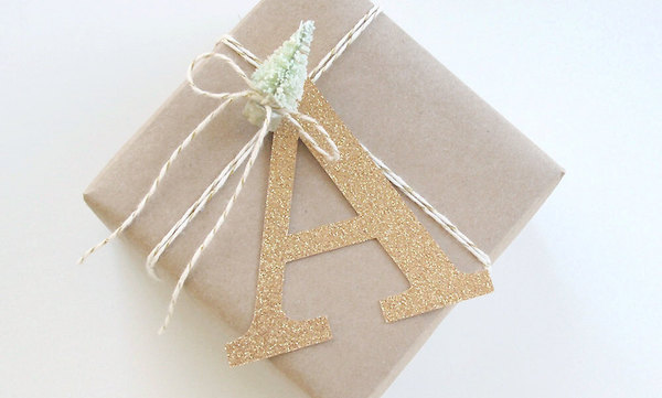Easy DIY Holiday Gift Label Ideas